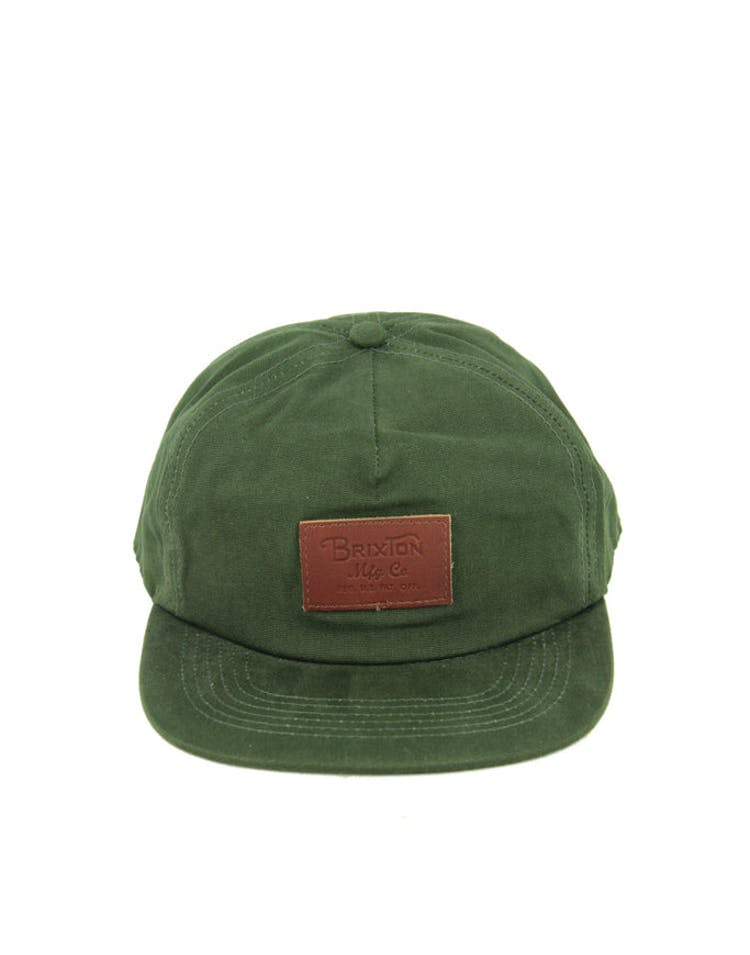 93264248d8004 Brixton Grade Snapback Forest Green – Culture Kings
