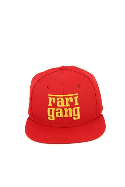 Rari Gang Snapback Red/gold