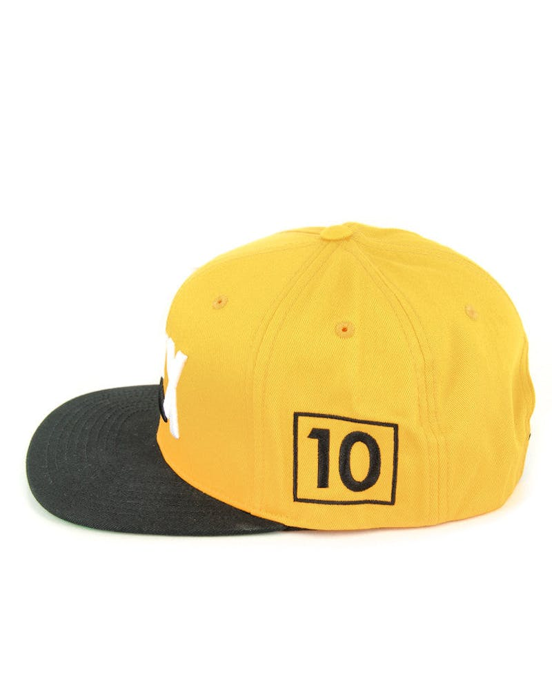 Sponsored Cap Yellow