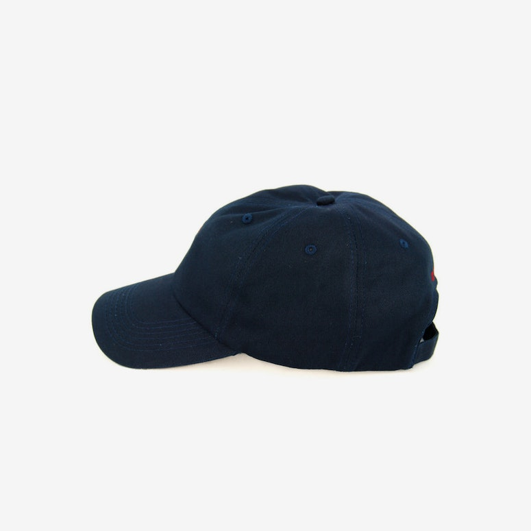 Flag Precurved Strapback Navy