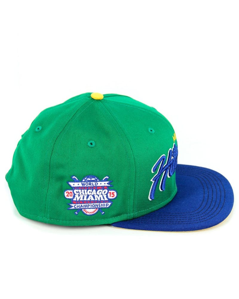 2015 World Series Team Snapback Green