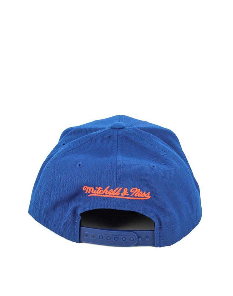 a4b96be91b36b Mitchell   Ness New York Knicks Wool Solid Snapback Royal – Culture ...