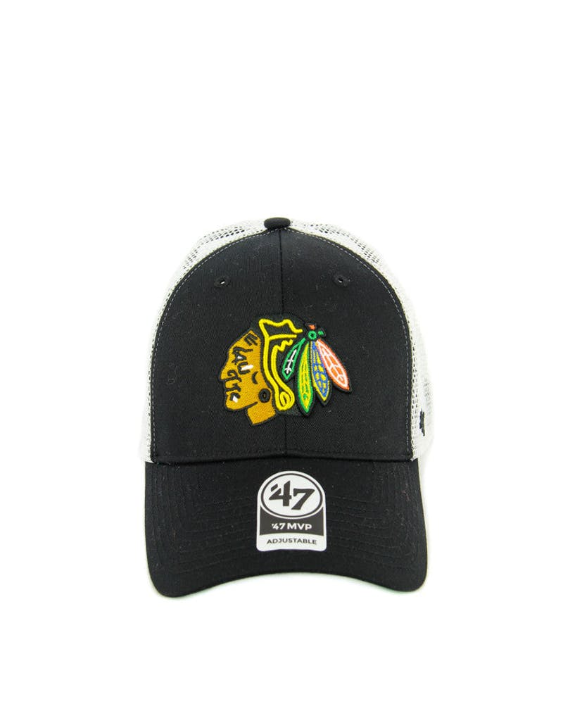 Blackhawks Branson Trucker Black/white