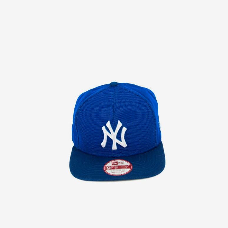 New Era Yankees Mesh Overlay of Snapback Royal white – Culture Kings 013fca41cfce