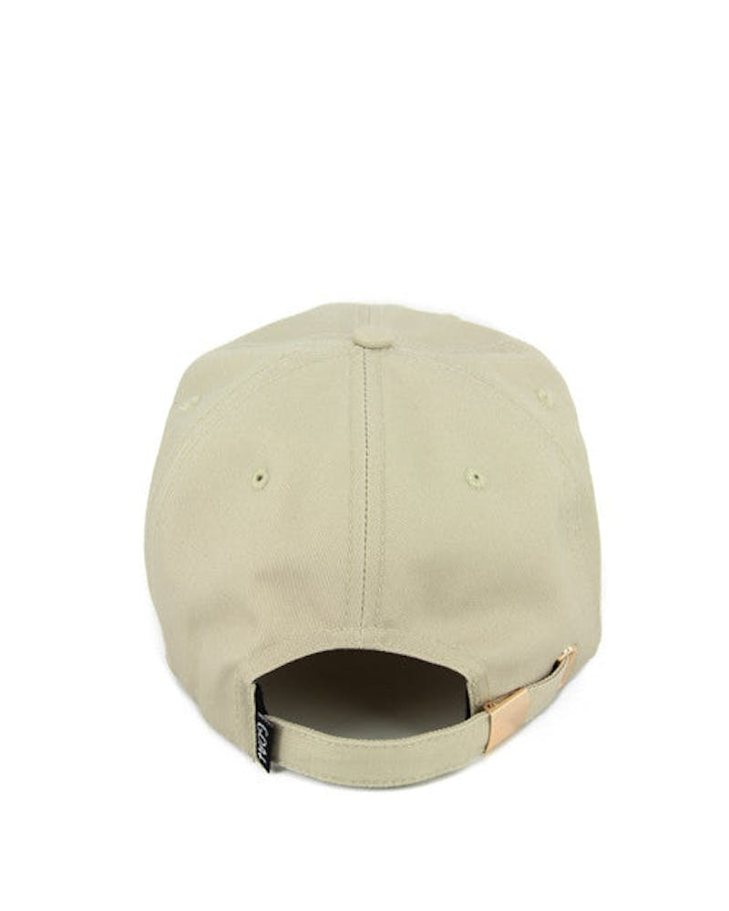 Drizzy Mini Head Strapback Tan