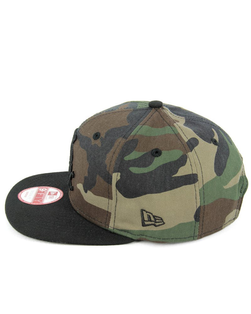 White Sox Orig. Fit Snapback Camo/black