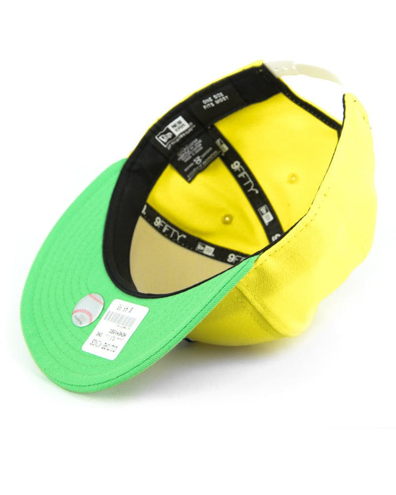 Cleveland Indians Snapback Yellow/green