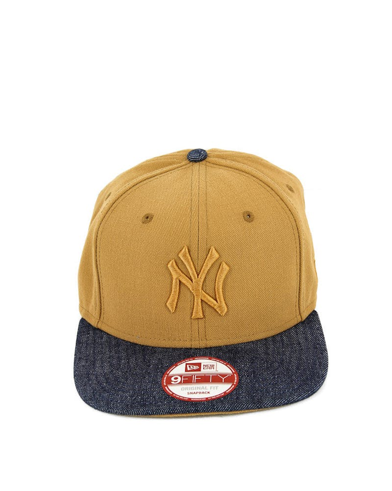 Yankees Original Fit Snapback Tan/denim