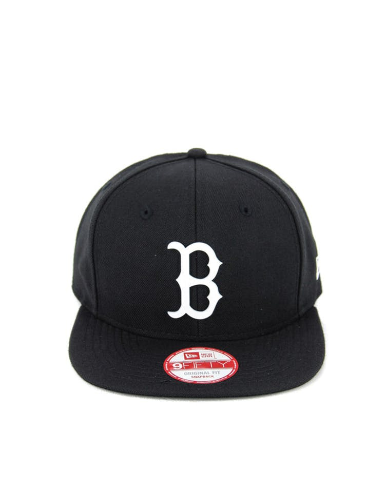 size 40 a8b26 01d25 New Era Red Sox Orig.fit Metal Snapback Black white – Culture Kings