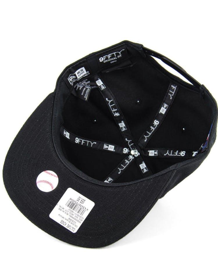 sale retailer 90888 2a356 Red Sox Orig.fit Metal Snapback Black white
