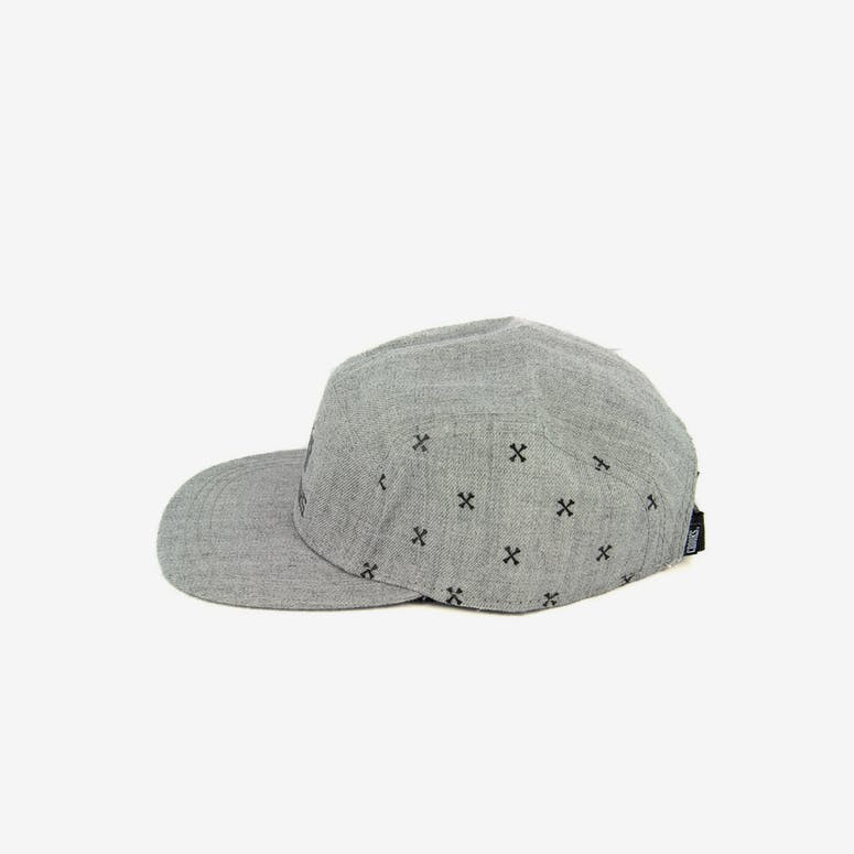 Bones Paisley 5 Panel Grey Speckle