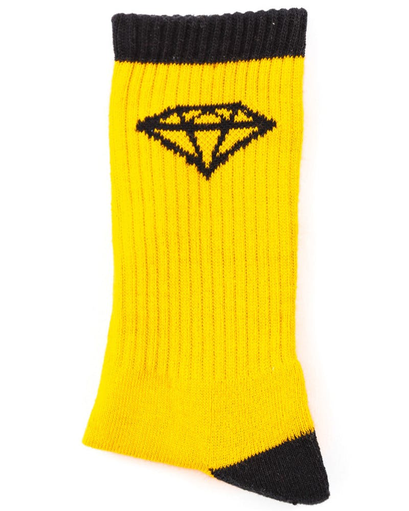 HI OG Sock Yellow/black