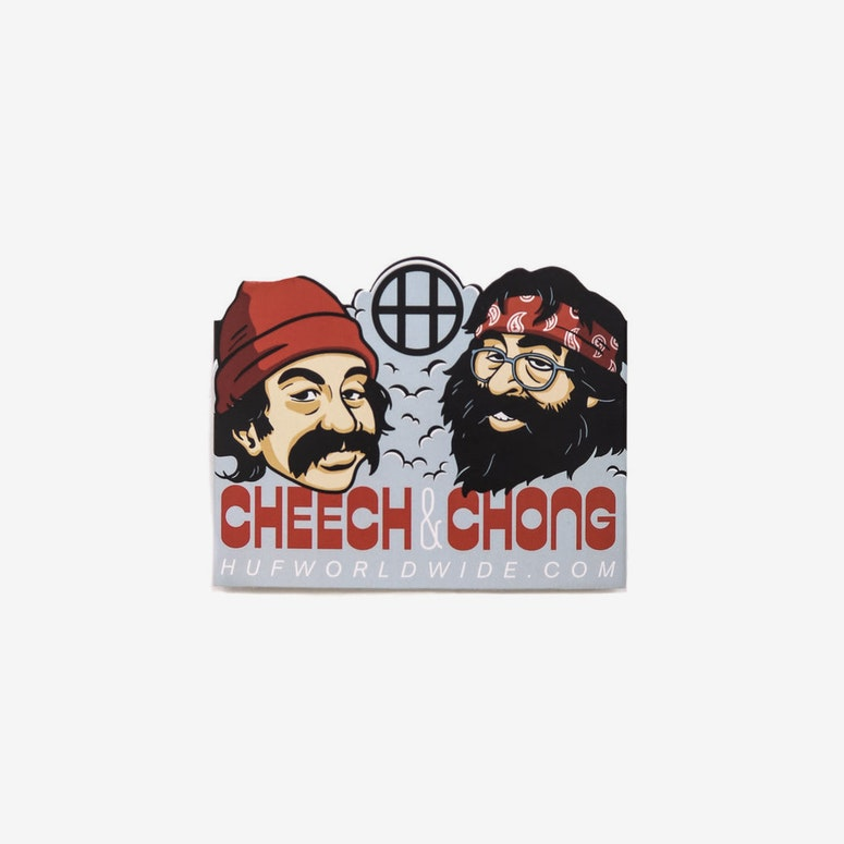 Cheech and Chong 420 Sock Grey
