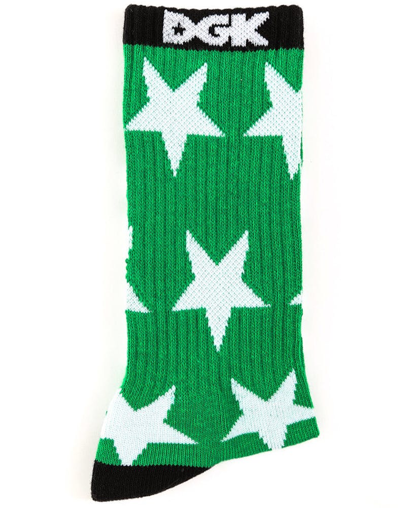 Coastal Crew Sock Green/black