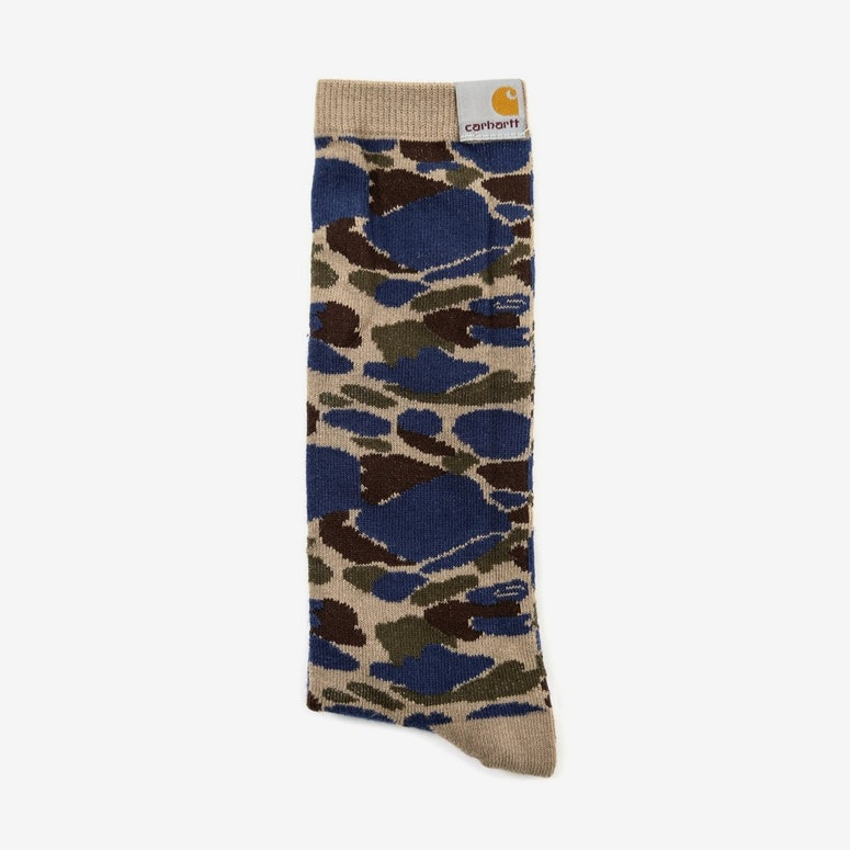 Basic Sock 2 Camo/blue