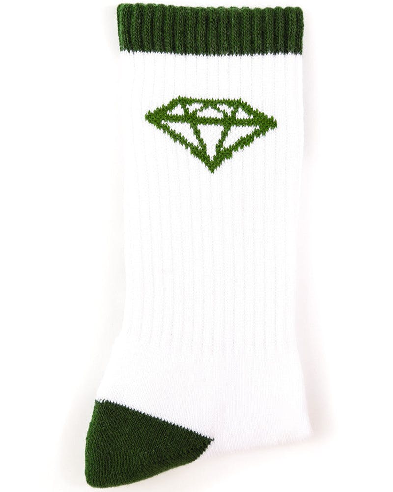 HI OG Sock White/green