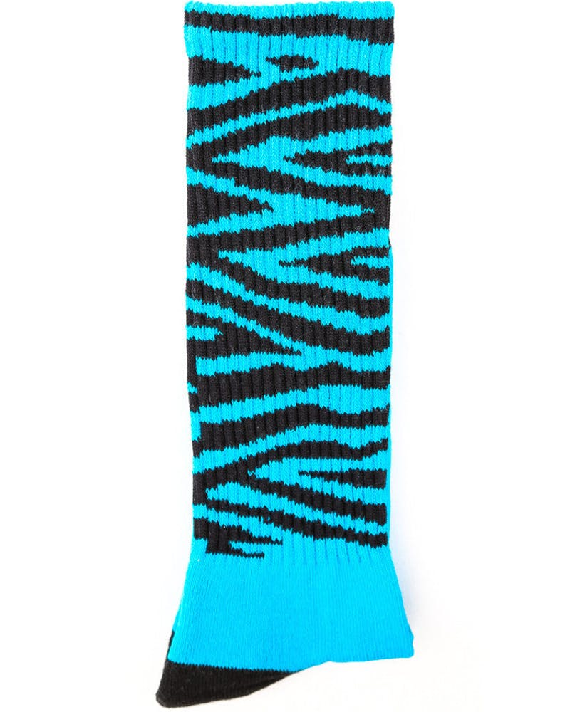 Tiger Golf Sock Turquoise