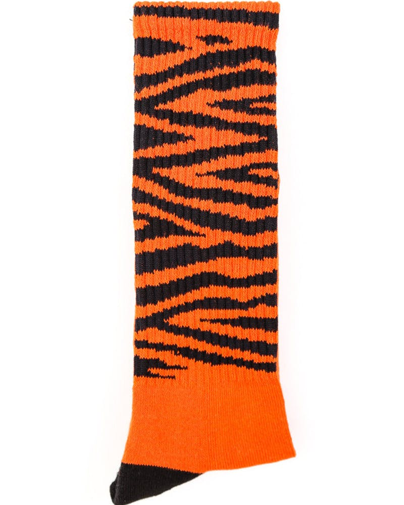 Tiger Golf Sock Orange