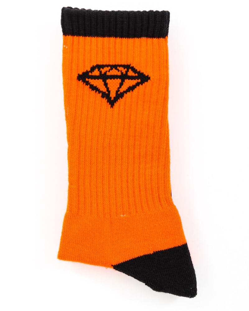 HI OG Sock Orange/black