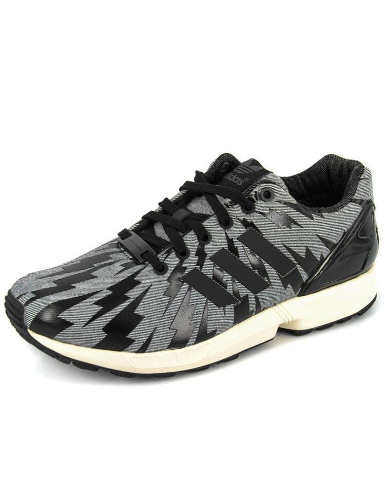 6450b11107984 Adidas Originals ZX Flux Lapo Elkann Denim Black black whi – Culture Kings
