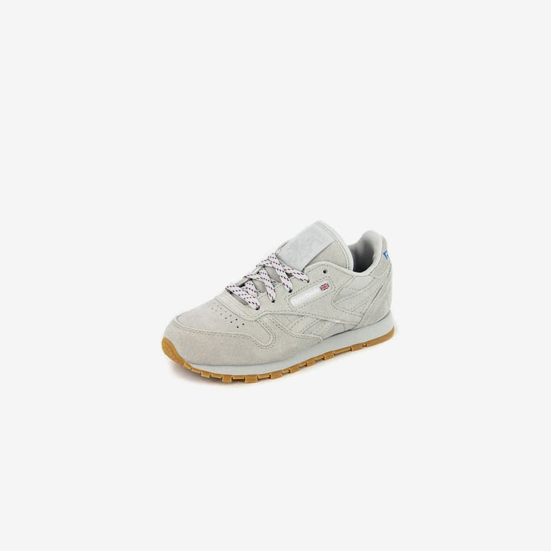 85c30f0a37d Reebok CL Leather KL Pre-school Steel white gum – Culture Kings