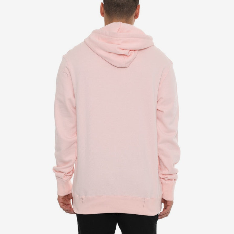 Arch Logo Hoody Pink/white
