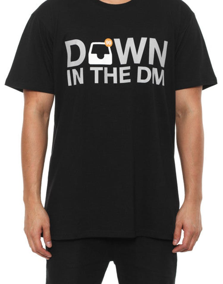 in the DM Tee Black
