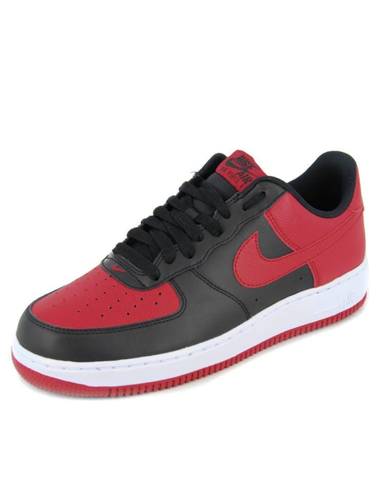 e450bb8582ad23 Nike Air Force 1 Black red white – Culture Kings