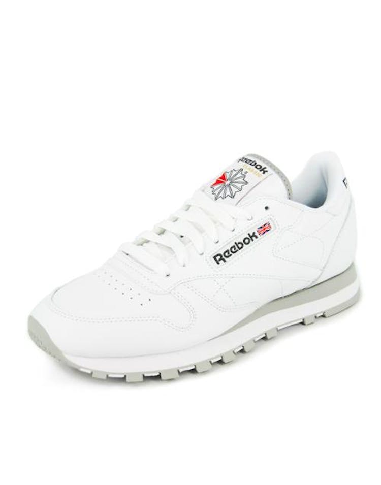 81ed0e509db Reebok Classic Leather White grey – Culture Kings