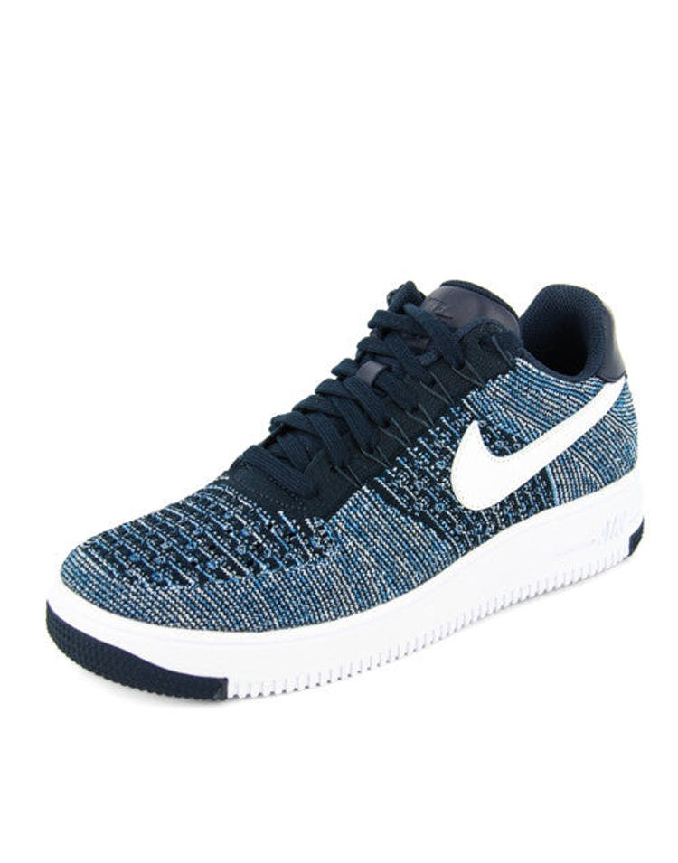 wholesale dealer e1561 2e935 Air Force 1 Ultra Flyknit Low Navy/white