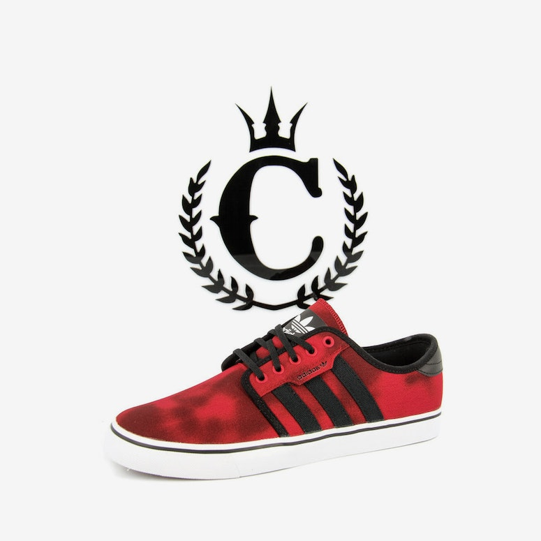 Seeley Boat Shoe 2 Red/black/white