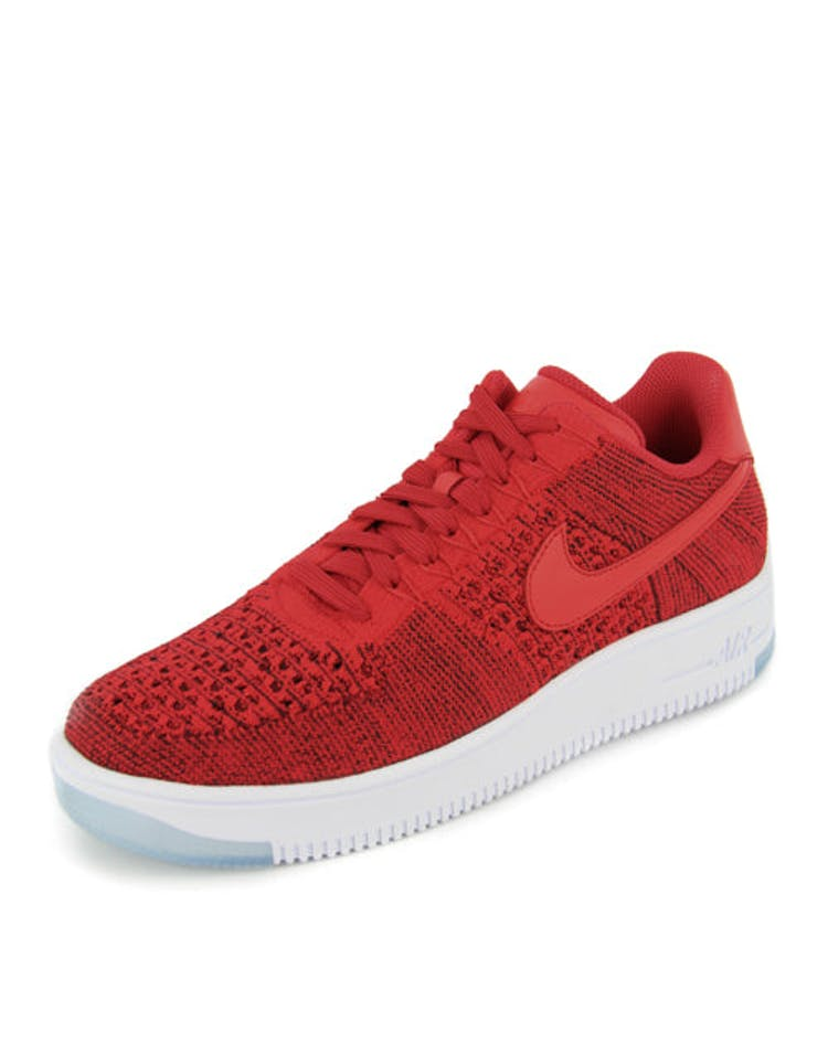 online retailer a5093 95a57 Nike Air Force 1 Flyknit Low Red/red – Culture Kings