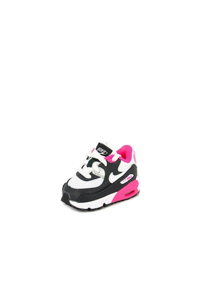 Girl's Air Max 90 Mesh (td) Anthra/wht/pnk