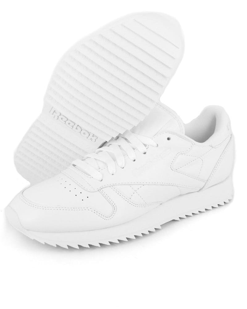CL Leather Ripple Mono White/white