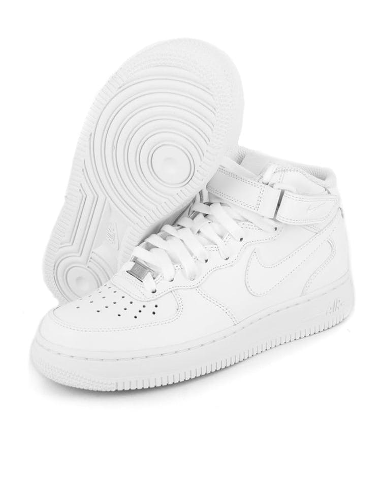 the best attitude bd4f2 89426 Women's Air Force 1 Mid '07 LE White/white