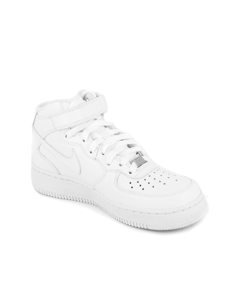 watch 075a7 286c4 Women s Air Force 1 Mid  07 LE White white