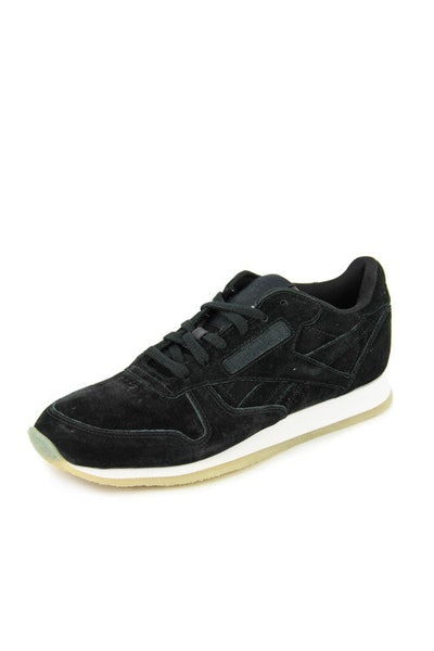 Women's CL Leather Crepe Black/white/gum
