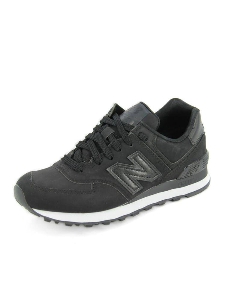 sports shoes bb4df 9e51b Womens High Roller 574 Black/black/whi