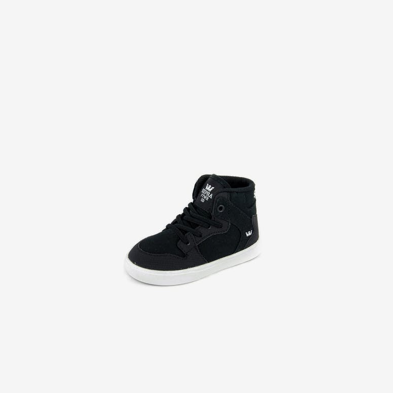 Supra Vaider Toddler Shoes Blackwhite Culture Kings