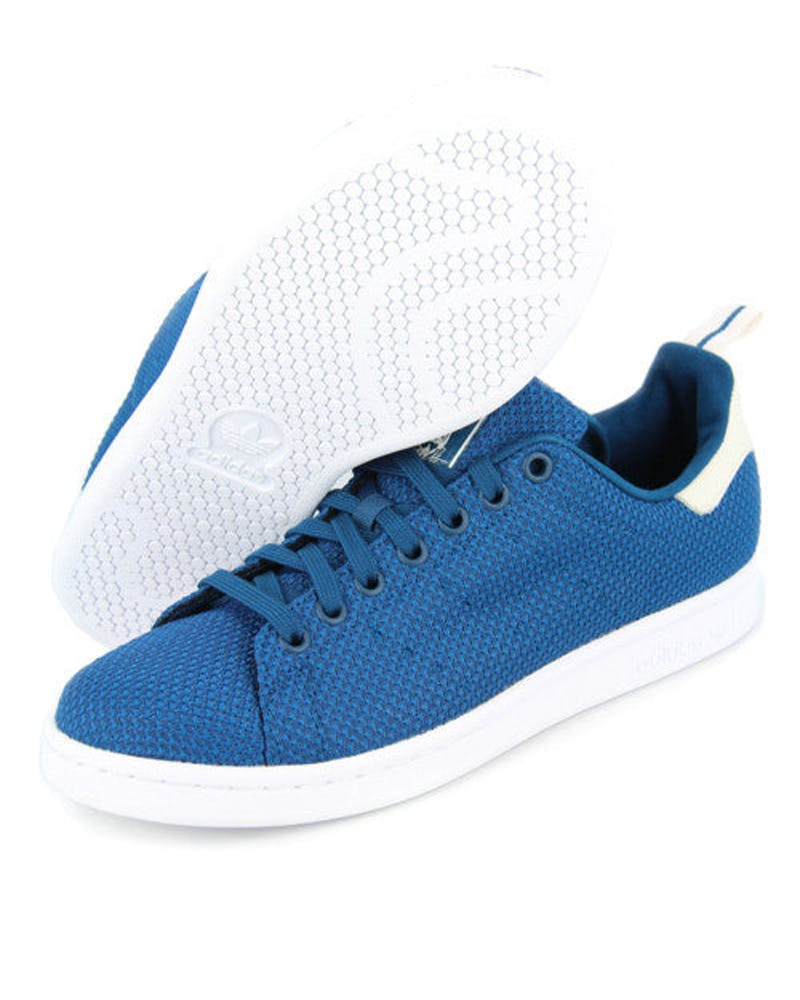 Stan Smith Circular Knit Blue/white