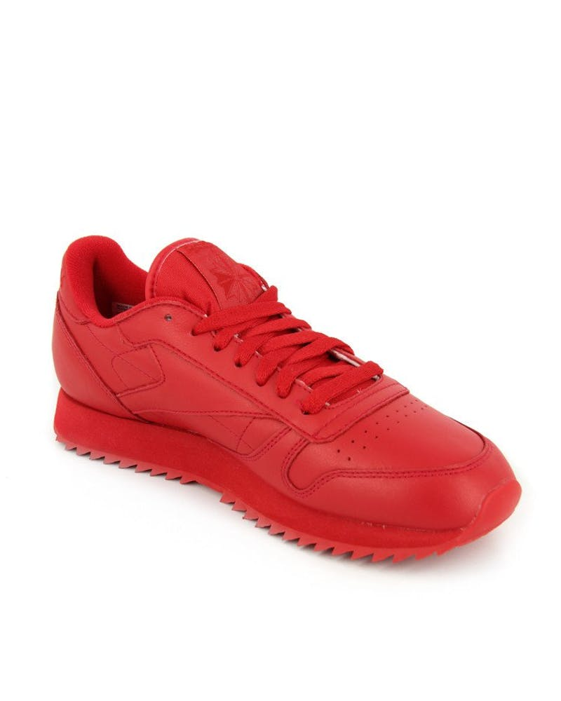 CL Leather Ripple Mono Red/red