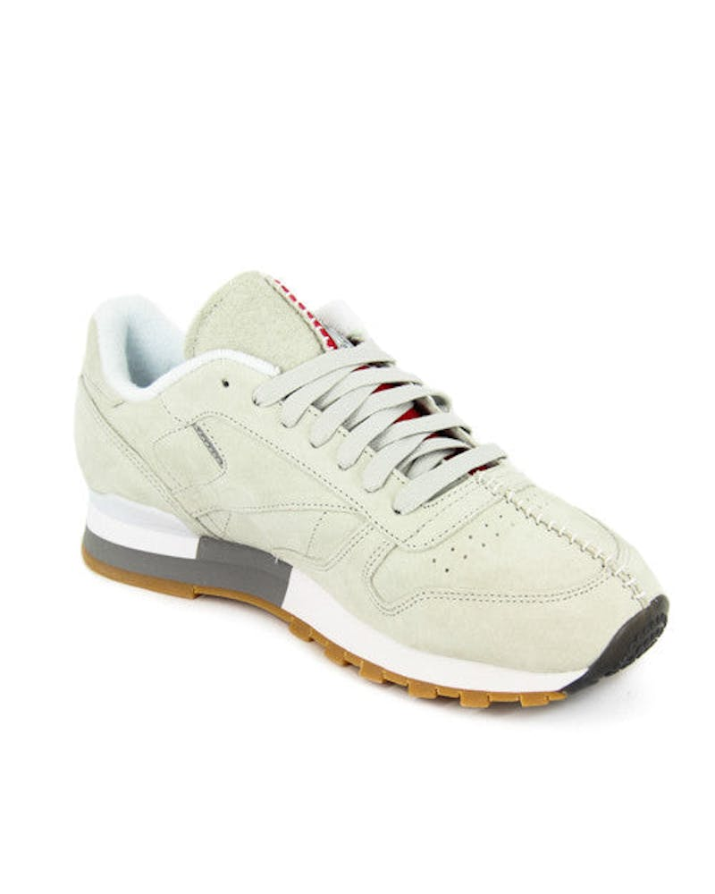 CL Leather KL Grey/white/gum