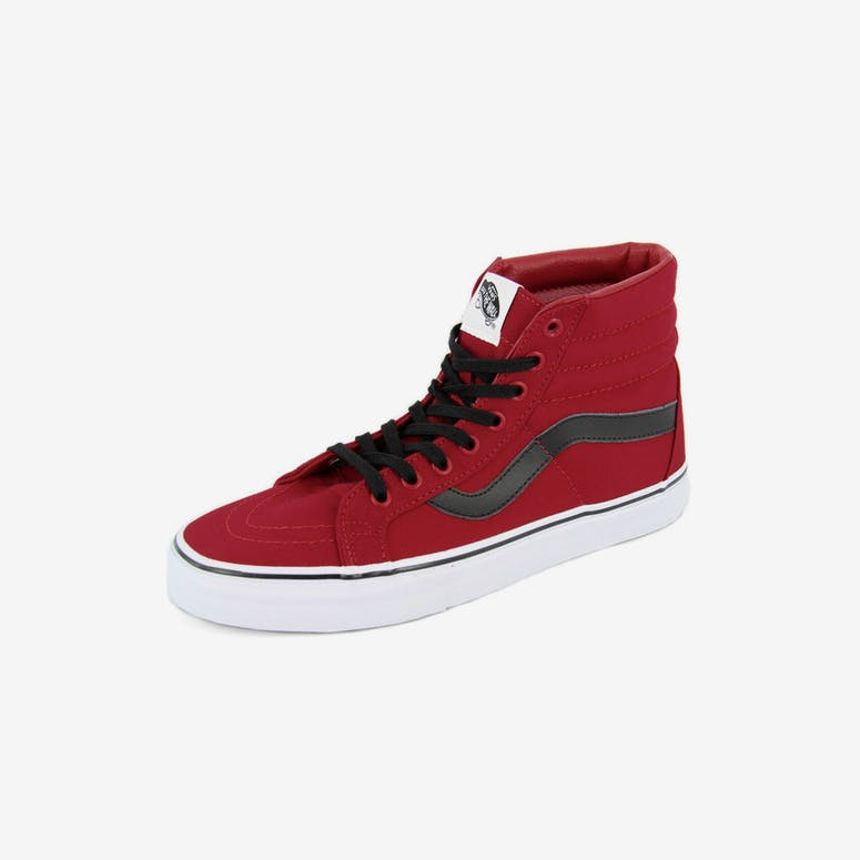 5ee8fe328a7d Vans Sk8-hi Reissue (canvas) Red black white – Culture Kings