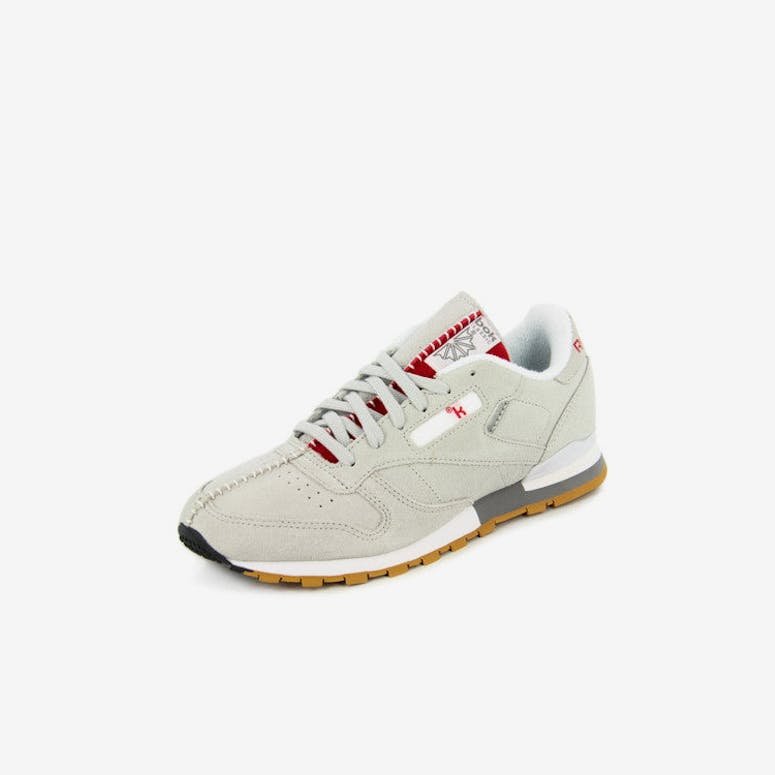 5969e032453 Reebok CL Leather KL Grade School Grey white gum – Culture Kings