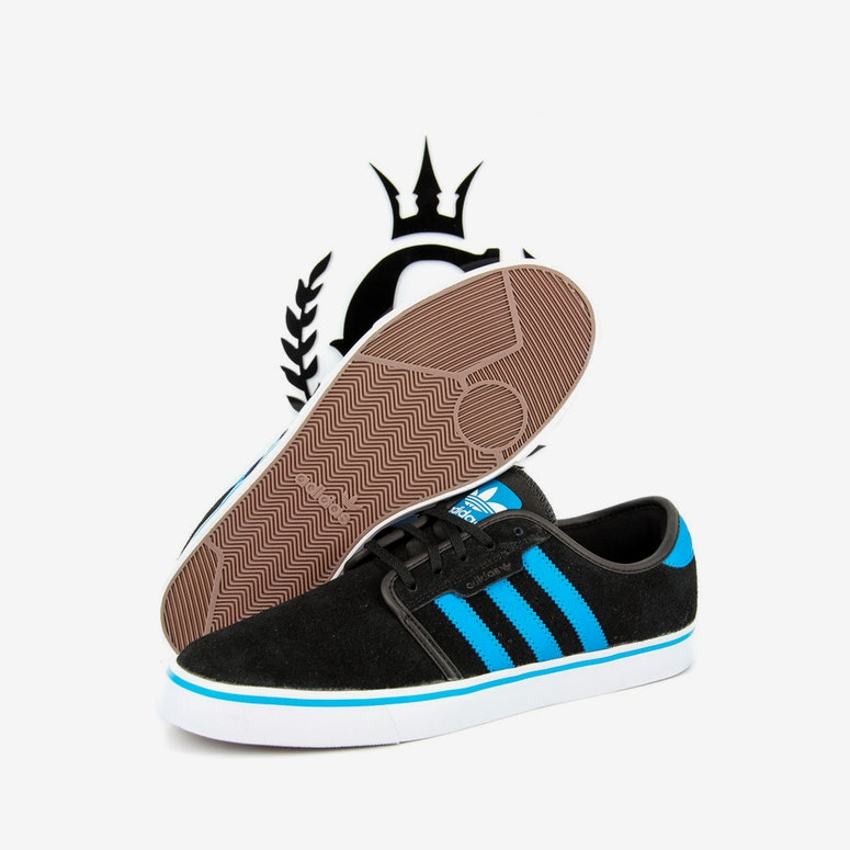 Seeley Boat Shoe 2 Black/blue