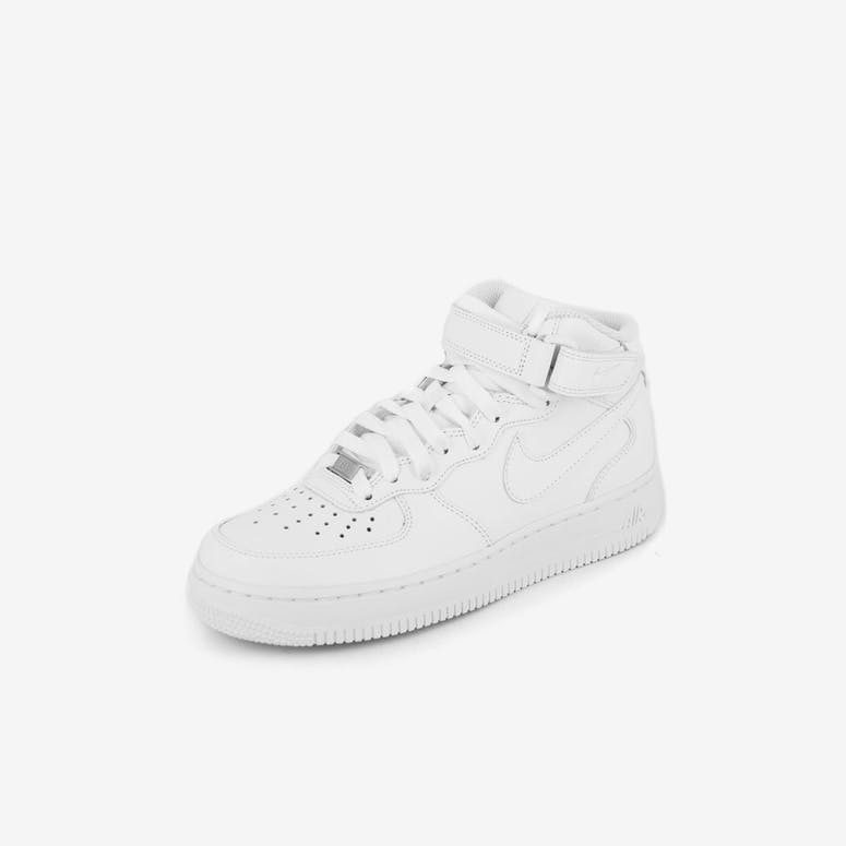 Nike Women s Air Force 1 Mid  07 LE White white – Culture Kings 920232ff5