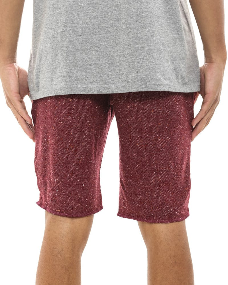 Hartley Cut Off San Francisco Shorts Maroon