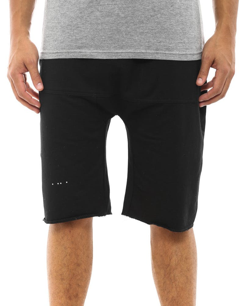 Garsol French Terry Short Black