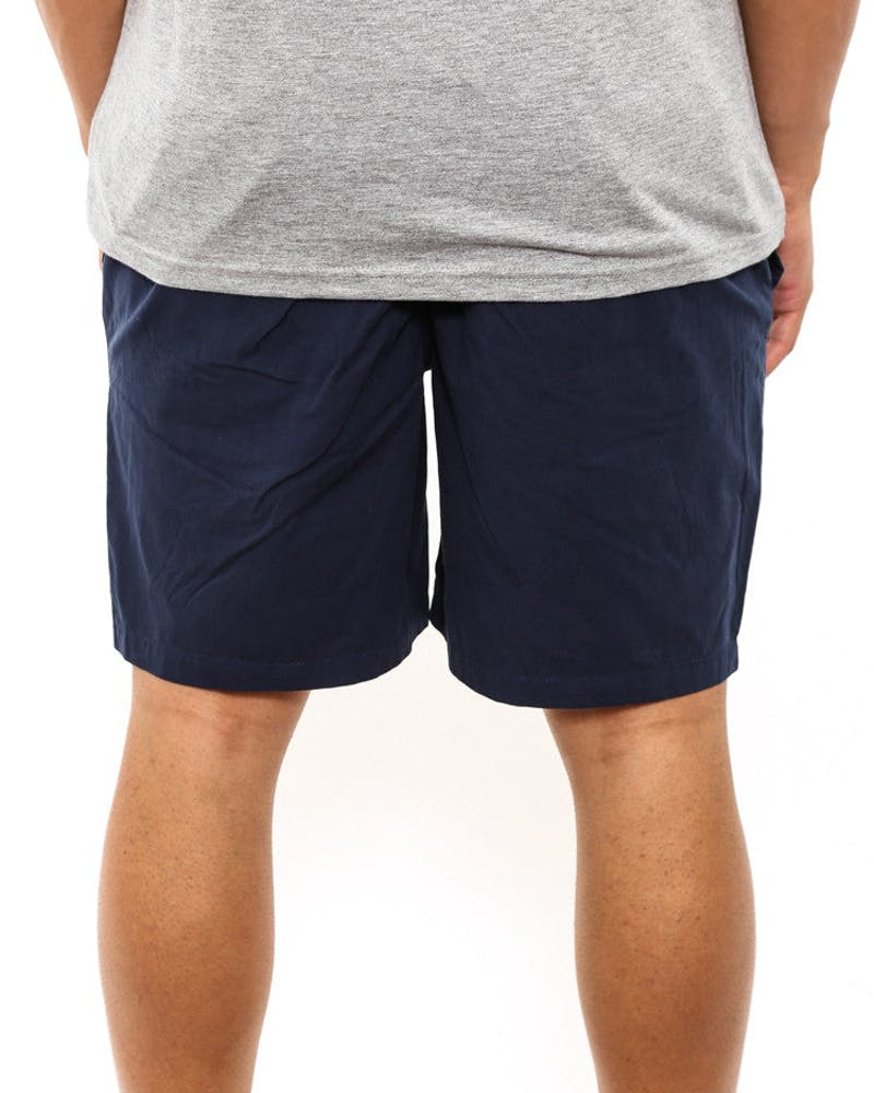 Basic Poplin Beach Short Navy