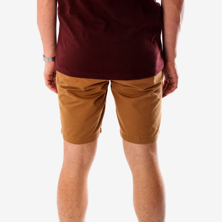 Baily Twill Short Brown